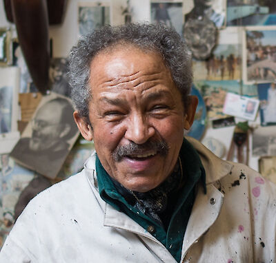 Portrait of Jack Whitten