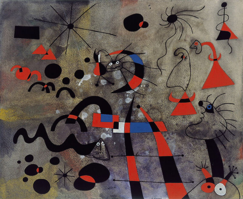 The Escape Ladder (from the Constellation series), 1940, Joan Miró