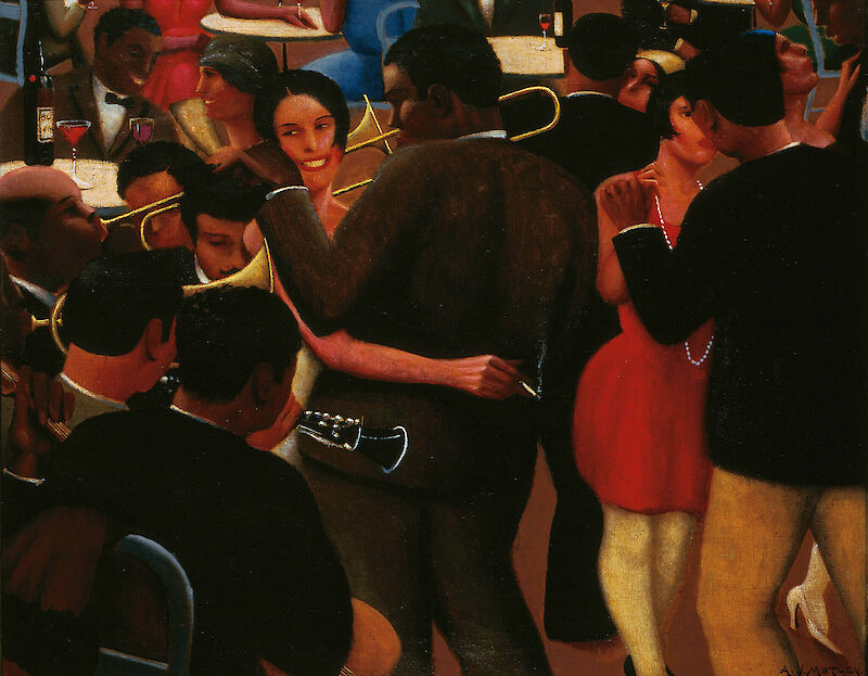 Blues, 1929, Archibald Motley