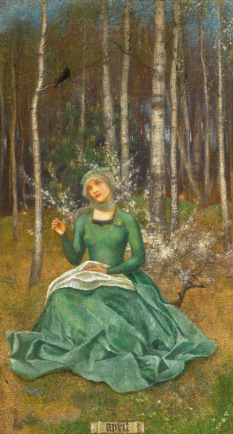 April, 1900, Marianne Stokes
