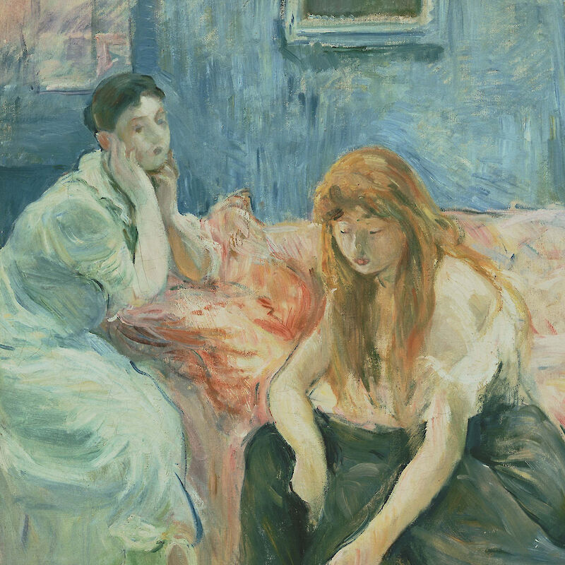 Portrait of Berthe Morisot
