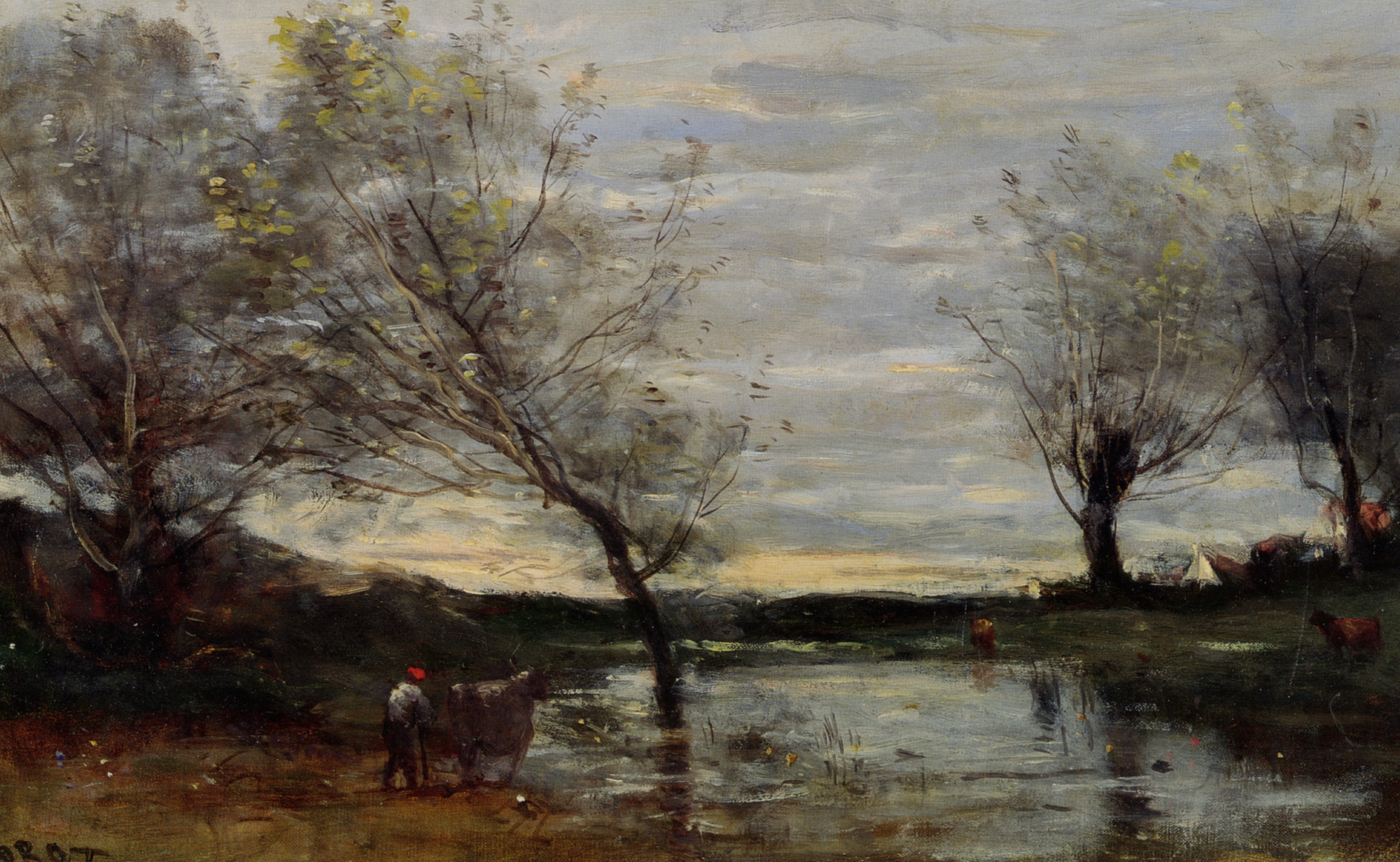 Jean baptiste camille corot 1796 1875 biography and for Camille corot