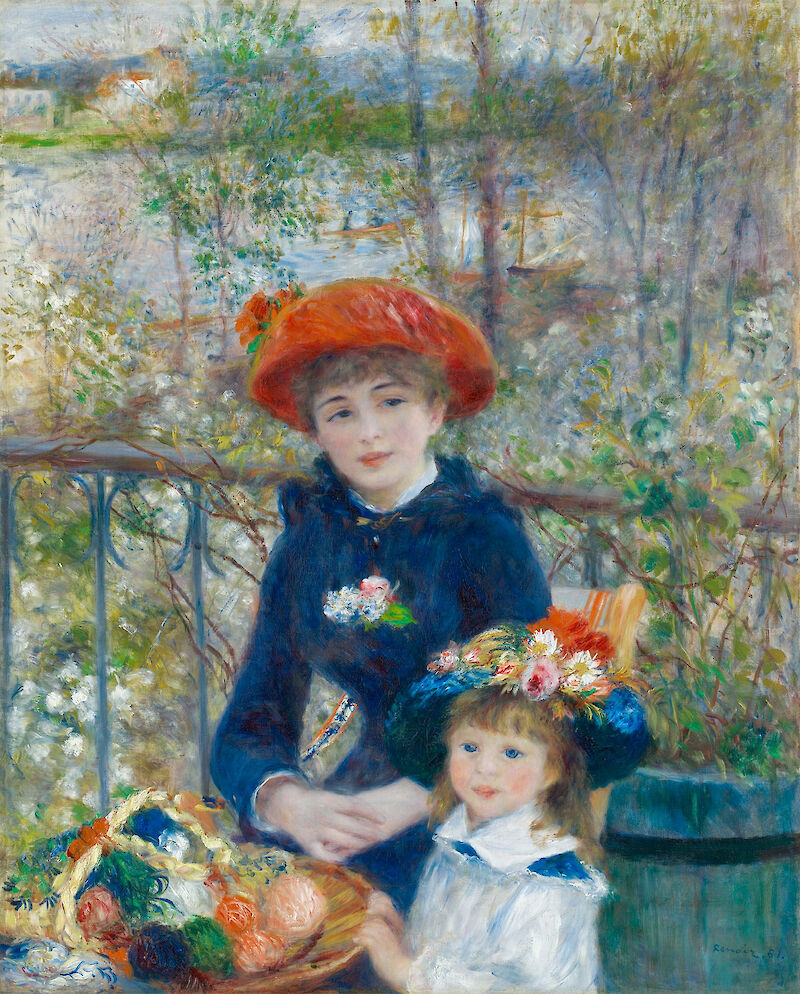 Portrait of Pierre-Auguste Renoir