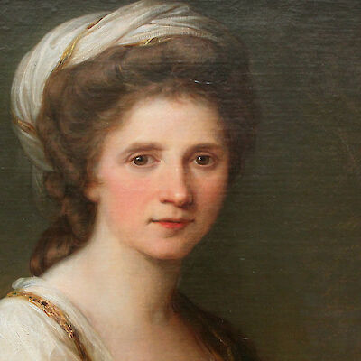 Portrait of Angelica Kauffmann