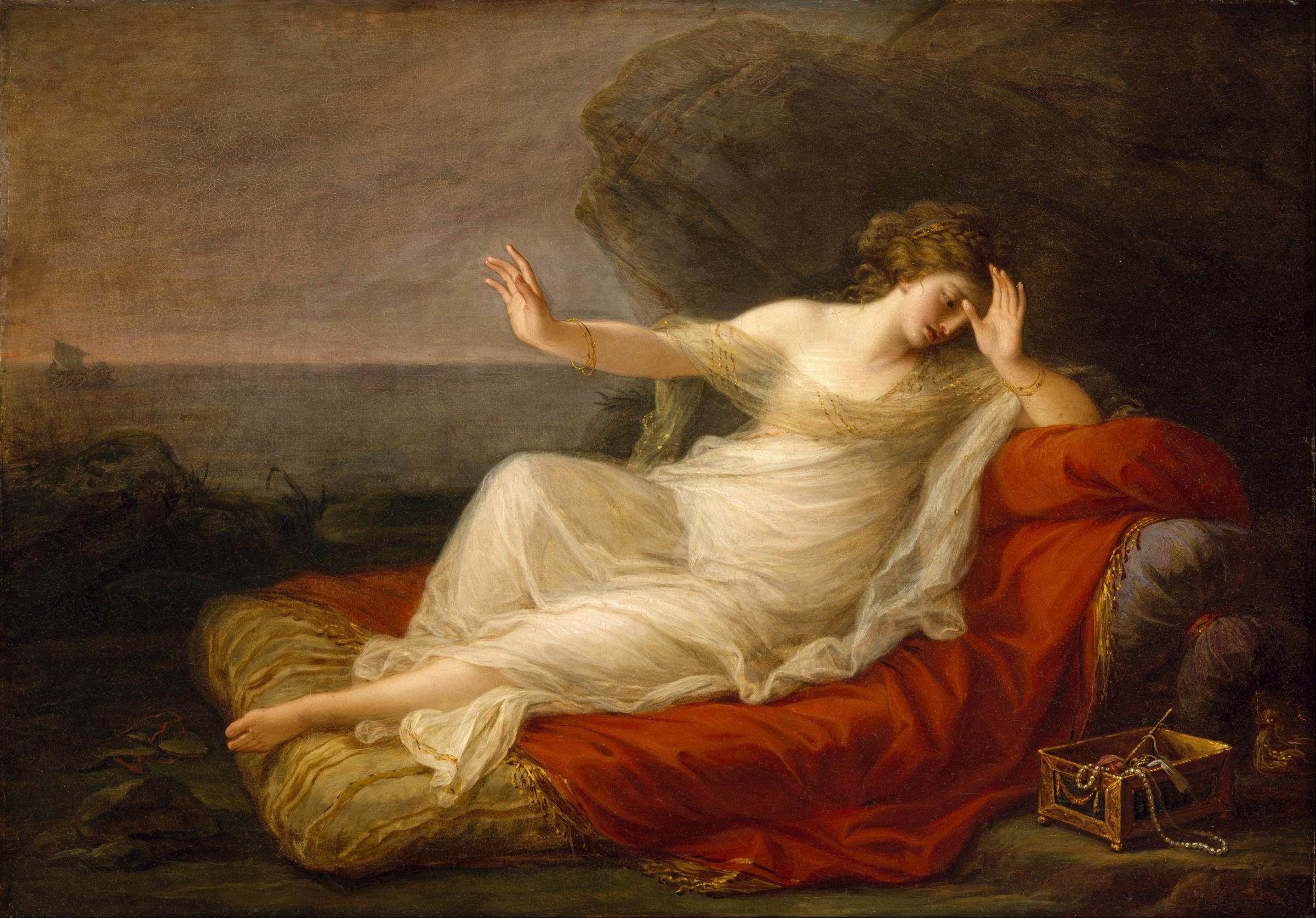 Ariadne Abandoned by Theseus, 1774 — Angelica Kauffmann