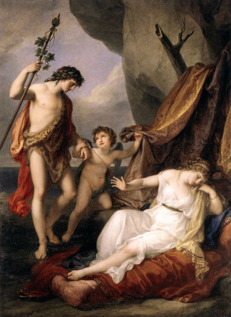 Bacchus and Ariadne, 1794, Angelica Kauffmann