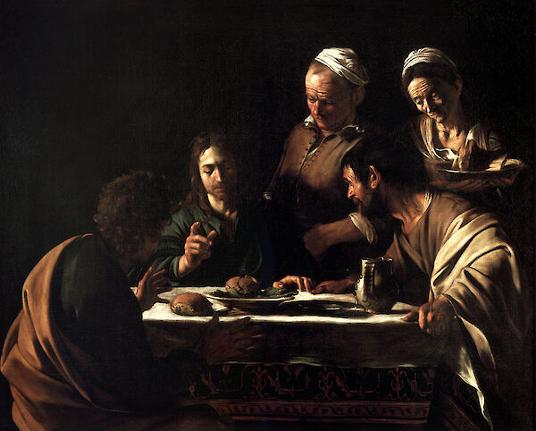 Supper at Emmaus (1606)
