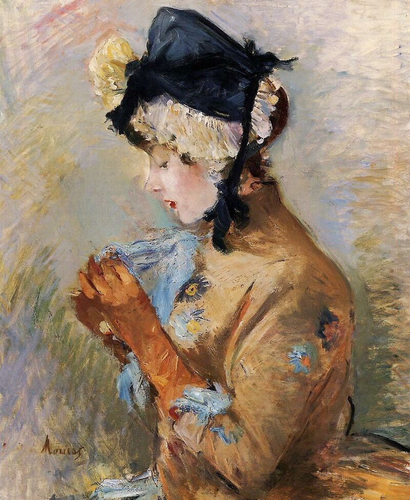 Woman Wearing Gloves (The Parisian)
