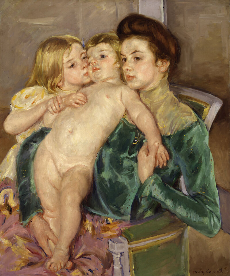 The Caress, 1902, Mary Cassatt