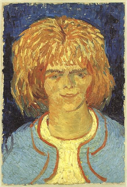 Head of a Girl, 1888 — Vincent Van Gogh,