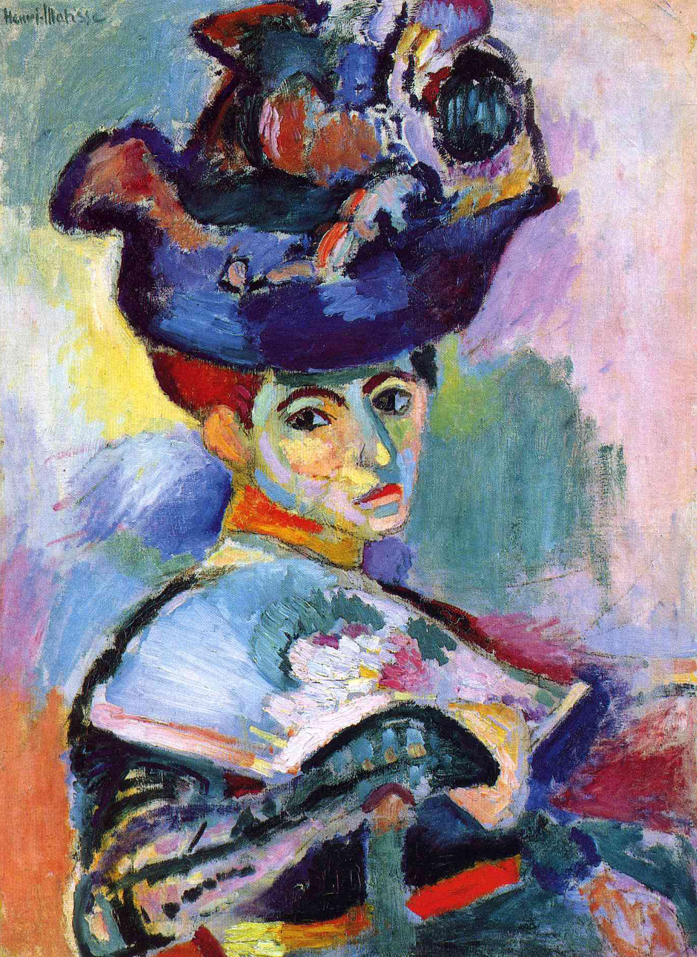 The Woman with a Hat, 1905 — Henri Matisse