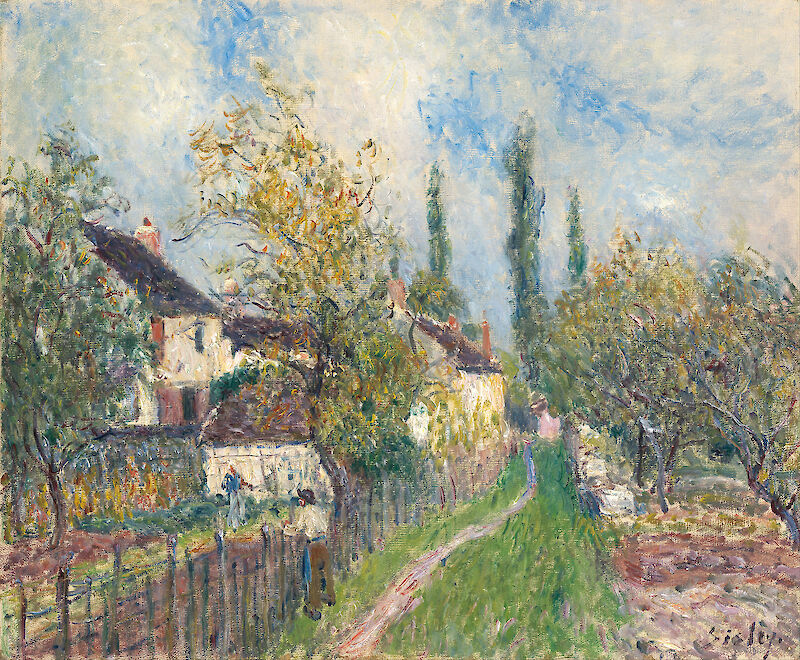 Portrait of Alfred Sisley