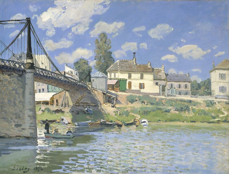The Bridge at Villeneuve-la-Garenne