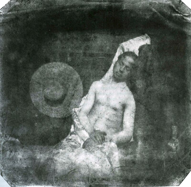 Self-Portrait as Drowned Man