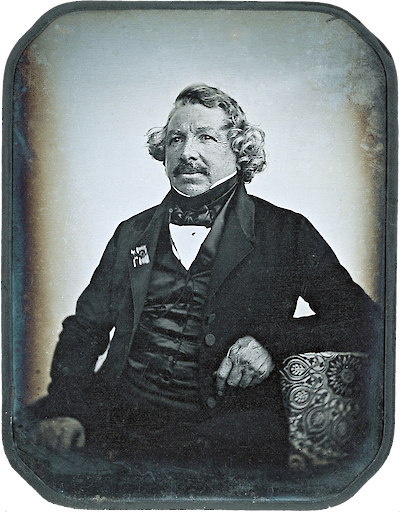 Portrait of Louis Jacques Mandé Daguerre