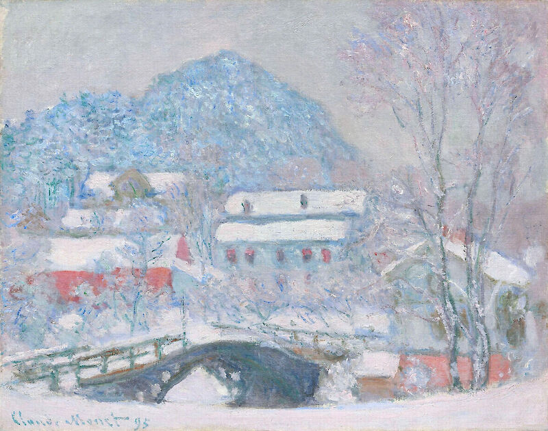 Norway, Sandviken Village in the Snow, 1895, Claude Monet