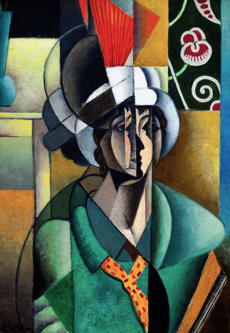 Portrait of Jean Metzinger
