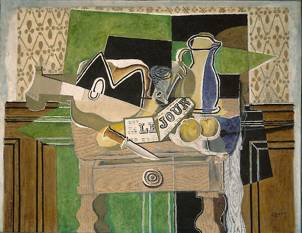 Georges Braque - Still Life-le Jour 1929 115 x 146.7cm National Gallery of Art