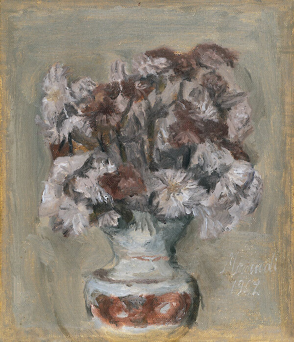 Giorgio Morandi - Flowers 1942 oil on canvas 30.5x26cm Thyssen Bornemisza