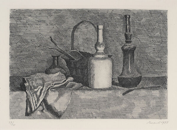 Still life with Drapery