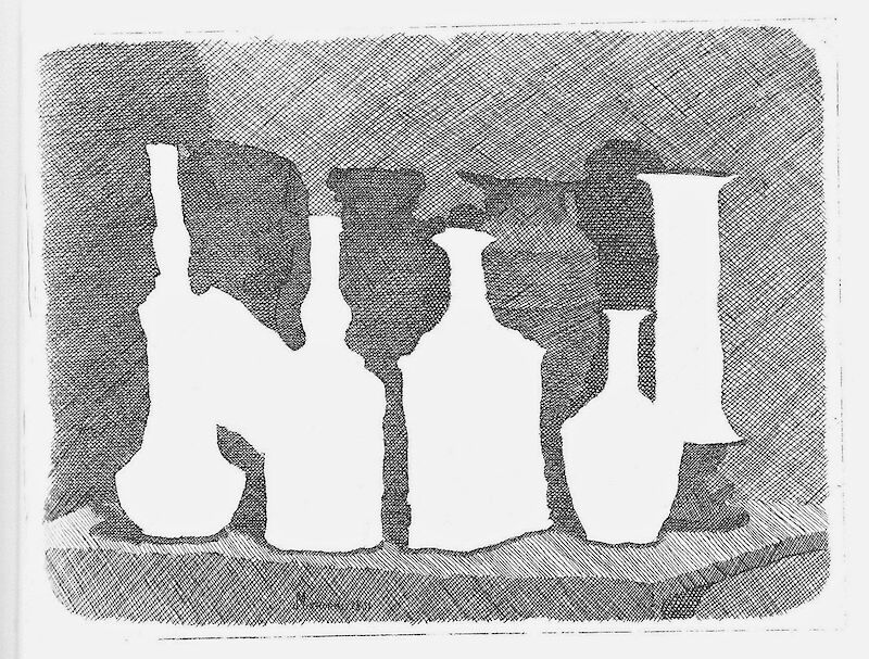 Still Life of Vases on a Table