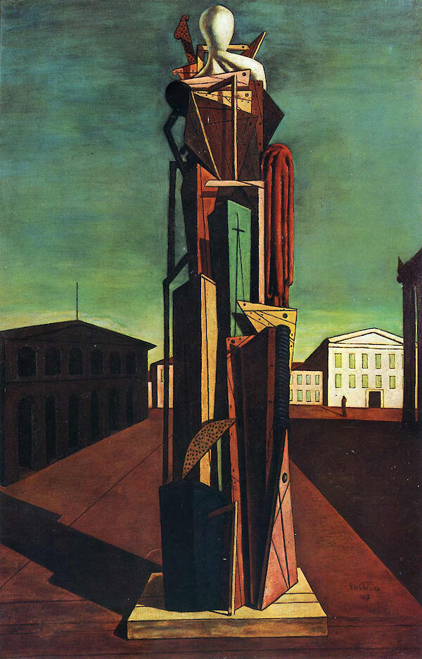 Giorgio de Chirico - The Grand Metaphysician (Il Gran Metafisico) 1917