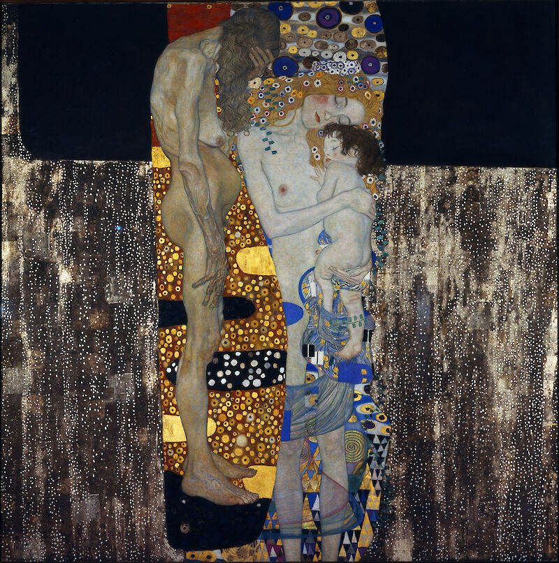 The Three Ages of Woman, 1905, Gustav Klimt