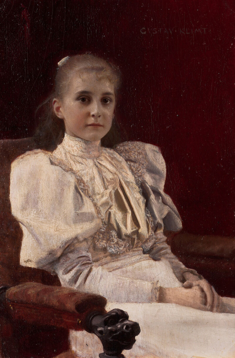 Young Girl Seated
