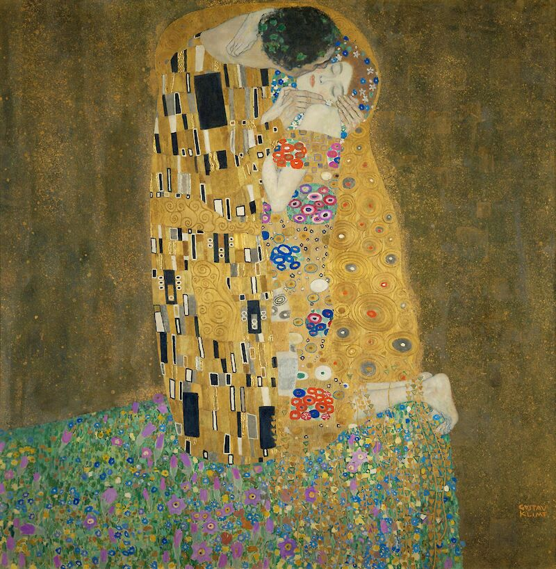 The Kiss, 1908, Gustav Klimt