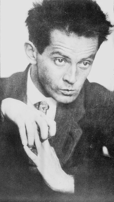 Portrait of Egon Schiele