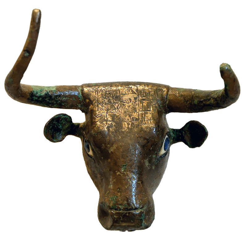 Bull Head from Girsu (Telloh)