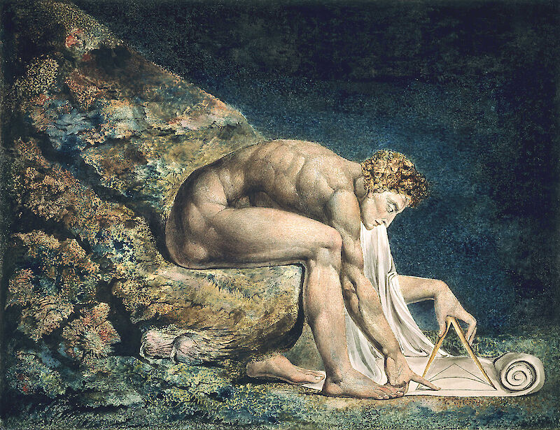 Newton, 1795, William Blake