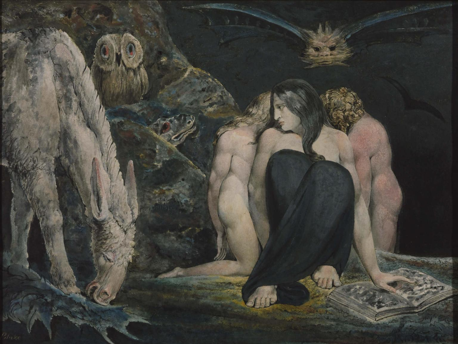 The Night of Enitharmon's Joy, 1795 — William Blake
