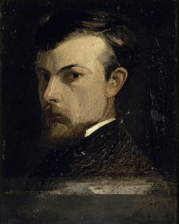 Portrait of Odilon Redon