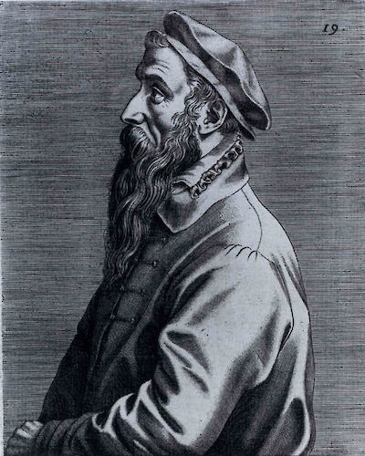 Portrait of Pieter Bruegel the Elder